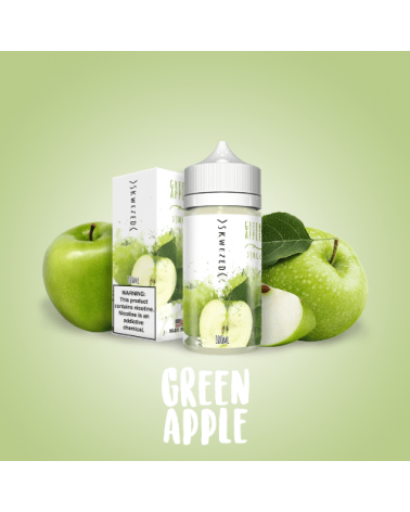 E-liquide Green Apple 100 ml de Skwezed
