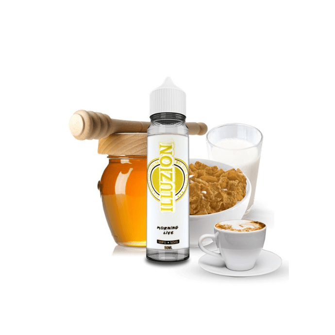 E-liquide Morning Live 50ml - Illuzion - sans nicotine