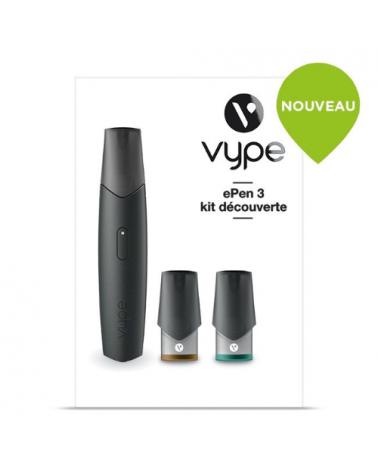 Pod ePen 3 - VYPE - cigarette électronique pod non rechargeable