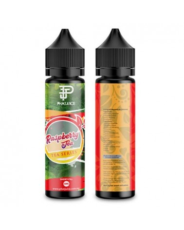 E-liquide Raspberry Tea 50ml sans nicotine - TEA - Phatjuice