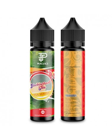 E-liquide Blackcurrant 50ml sans nicotine - TEA - Phatjuice
