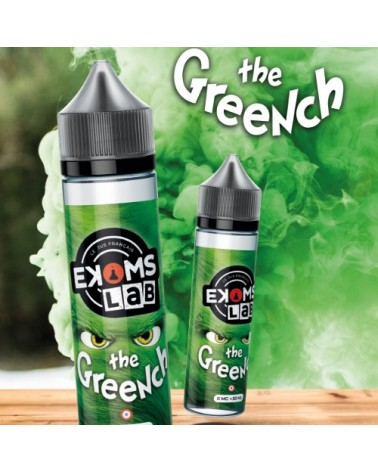 E-liquide The Greench 50ml sans nicotine - Ekoms'Lab - Ekoms