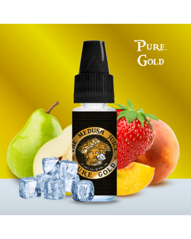 E-liquide Pure Gold 10ml – Medusa Juice