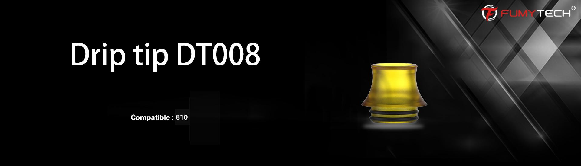 Drip Tip 810 en ultem - Fumytech