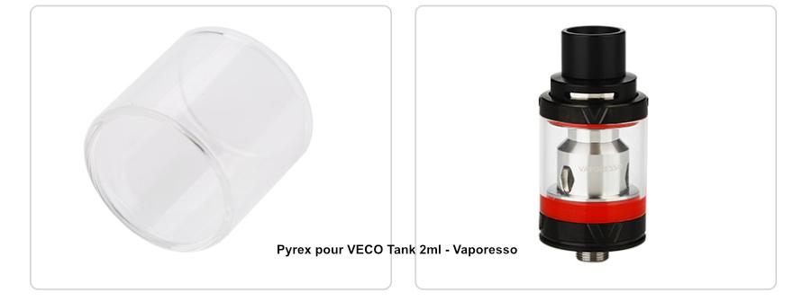 Pyrex pour VECO Tank 2ml - Vaporesso